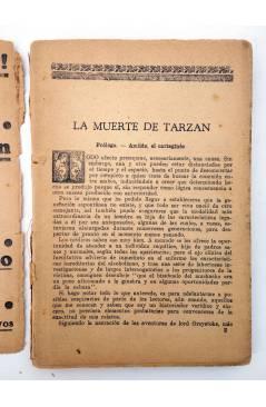 Muestra 3 de COLECCIÓN MISTERIO 127. LA MUERTE DE TARZÁN (Alfonso Quintana) J.C. Rovira 1933. APÓCRIFO