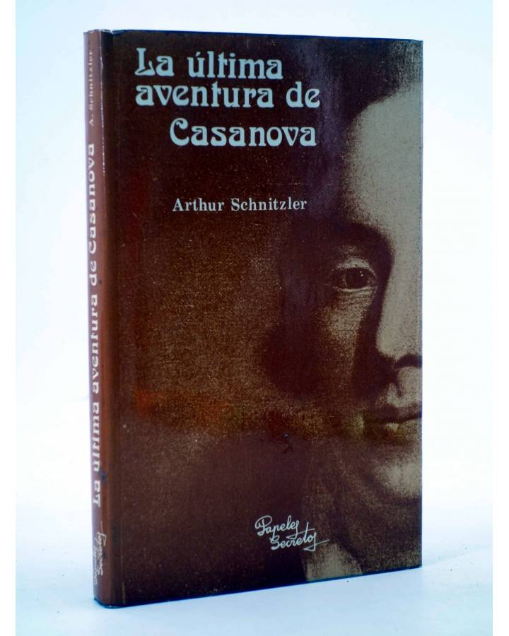 Cubierta de LA ÚLTIMA AVENTURA DE CASANOVA (Arthur Schnitzler) Papeles Secretos 1978