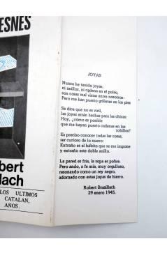 Muestra 1 de ESCRITOS EN PRISIÓN: POEMAS DE FRESNES (Robert Brasillach) Nuevo Arte Thor 1977