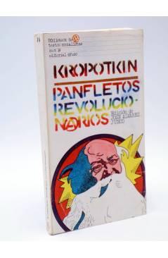 Cubierta de BIBLIOTECA DE TEXTOS SOCIALISTAS 14. PANFLETOS REVOLUCIONARIOS (Kropotkin) Ayuso 1977