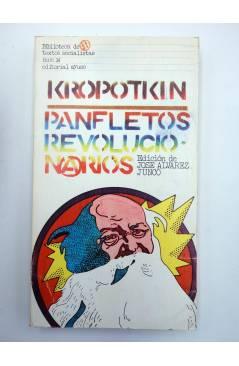 Contracubierta de BIBLIOTECA DE TEXTOS SOCIALISTAS 14. PANFLETOS REVOLUCIONARIOS (Kropotkin) Ayuso 1977