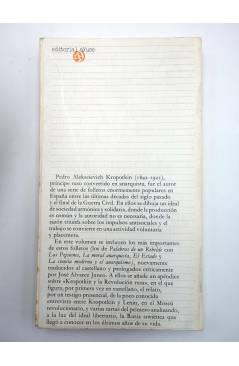 Muestra 1 de BIBLIOTECA DE TEXTOS SOCIALISTAS 14. PANFLETOS REVOLUCIONARIOS (Kropotkin) Ayuso 1977
