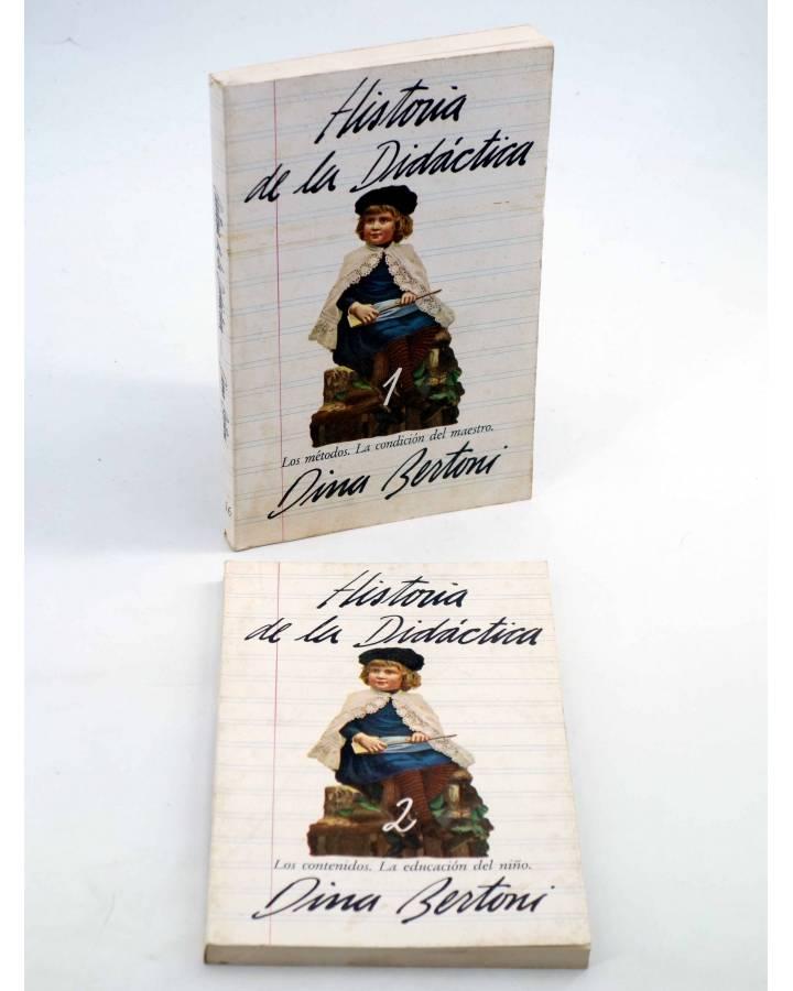 Cubierta de HISTORIA DE LA DIDÁCTICA. COMPLETA EN DOS TOMOS (Dina Bertoni) Avance 1978