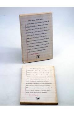 Contracubierta de HISTORIA DE LA DIDÁCTICA. COMPLETA EN DOS TOMOS (Dina Bertoni) Avance 1978