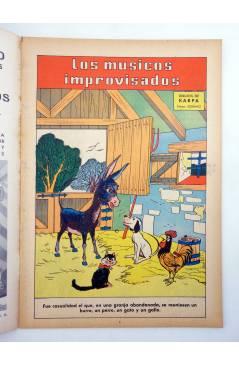 Muestra 1 de ADAPTACIONES GRÁFICAS DE CUENTOS CLÁSICOS 4. LOS MÚSICOS IMPROVISADOS (Soriano Izquierdo / Karpa) Valencian