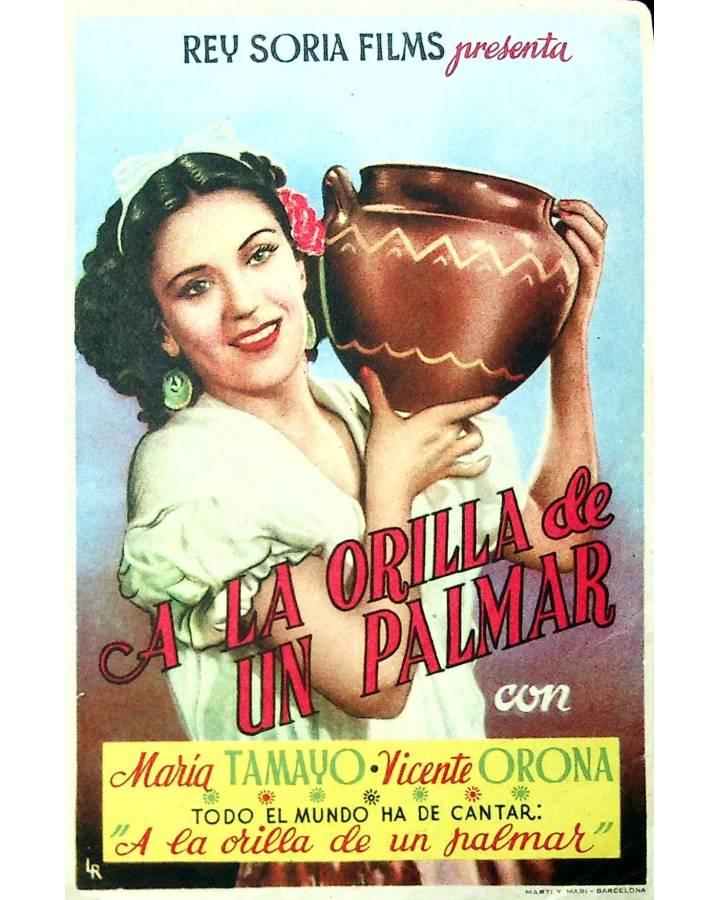 Cubierta de PROGRAMA DE MANO. A LA ORILLA DE UN PALMAR (Raphael J. Sevilla) Rey Soria. MARÍA TAMAYO
