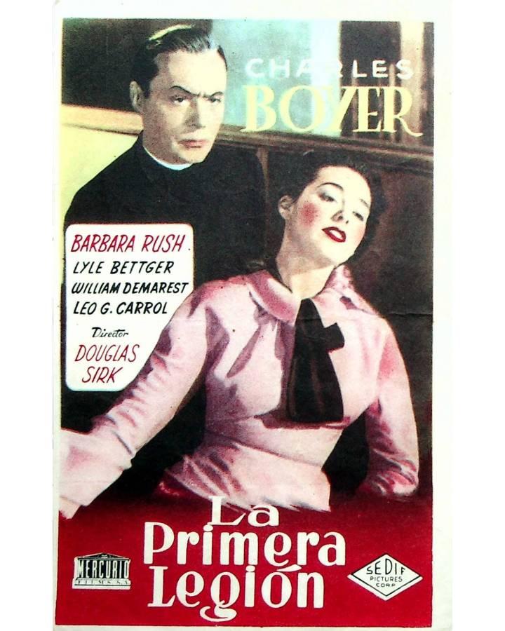 Cubierta de PROGRAMA DE MANO. LA PRIMERA LEGIÓN (Douglas Sirk) Sedif. BARBARA RUSH