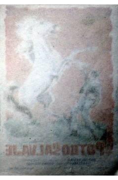 Contracubierta de PROGRAMA DE MANO. EL POTRO SALVAJE (Rafael Baledón) 1961. GASTÓN SANTOS RAYO DE PLATA GUI GUI