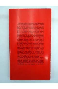 Contracubierta de DP 6 Y 7. LA URSS. IMPRESIÓN POLÍTICA DE RUSIA. 2 TOMOS (Erik De Mauny) Dopesa 1970