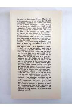 Contracubierta de DP 10. JUVENTUD MARGINADA. LOS HIPPIES A SU PASO POR FORMENTERA (C. Gil Muñoz) Dopesa 1973