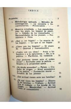 Muestra 2 de DP 10. JUVENTUD MARGINADA. LOS HIPPIES A SU PASO POR FORMENTERA (C. Gil Muñoz) Dopesa 1973