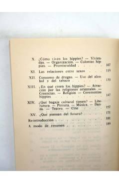 Muestra 3 de DP 10. JUVENTUD MARGINADA. LOS HIPPIES A SU PASO POR FORMENTERA (C. Gil Muñoz) Dopesa 1973