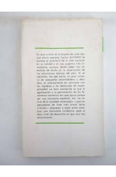 Contracubierta de DP 13. PODER BLANCO Y REBELIÓN NEGRA (Francois Masnata) Dopesa 1970