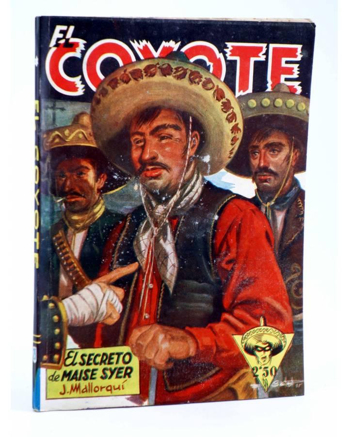 Cubierta de EL COYOTE 25. EL SECRETO DE MAISE SYER (J. Mallorquí) Cliper 1944