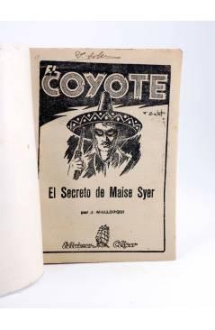 Muestra 1 de EL COYOTE 25. EL SECRETO DE MAISE SYER (J. Mallorquí) Cliper 1944