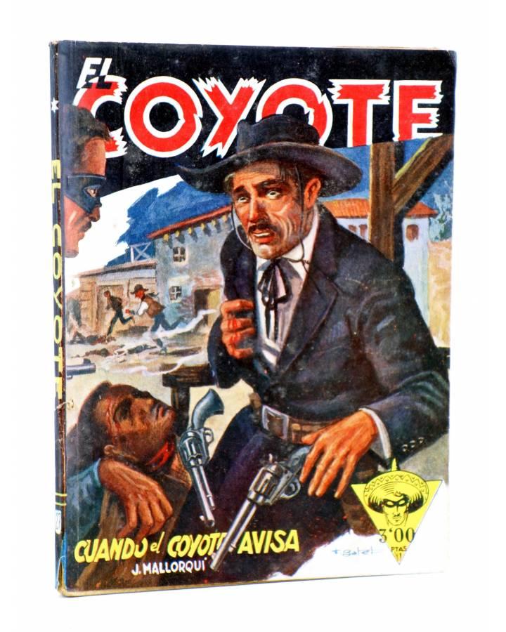 Cubierta de EL COYOTE 27. CUANDO EL COYOTE AVISA (J. Mallorquí) Cliper 1944