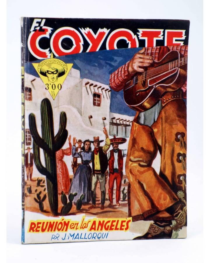 Cubierta de EL COYOTE 49. REUNIÓN EN LOS ÁNGELES (J. Mallorquí) Cliper 1944