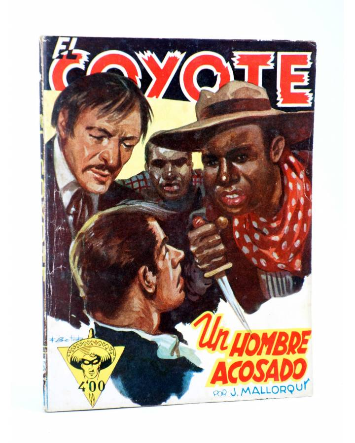 Cubierta de EL COYOTE 63. UN HOMBRE ACOSADO (J. Mallorquí) Cliper 1944