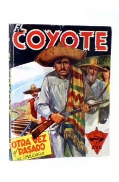 Cubierta de EL COYOTE 78. OTRA VEZ EL PASADO (J. Mallorquí) Cliper 1944