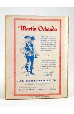 Contracubierta de EL COYOTE 78. OTRA VEZ EL PASADO (J. Mallorquí) Cliper 1944