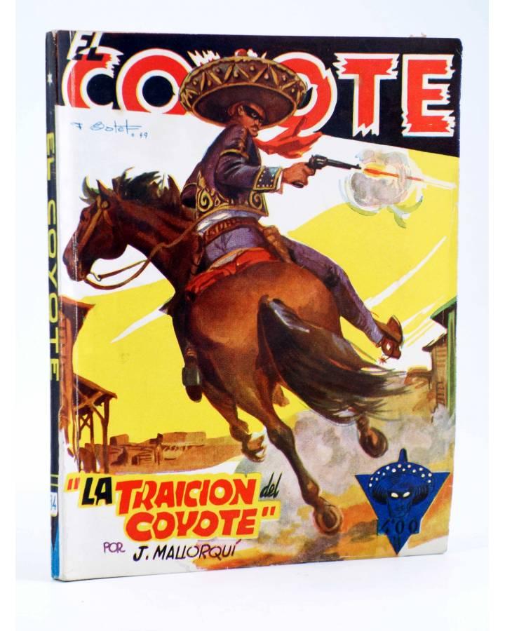 Cubierta de EL COYOTE 84. LA TRAICIÓN DEL COYOTE (J. Mallorquí) Cliper 1944
