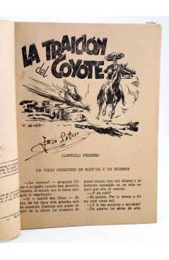 Muestra 1 de EL COYOTE 84. LA TRAICIÓN DEL COYOTE (J. Mallorquí) Cliper 1944