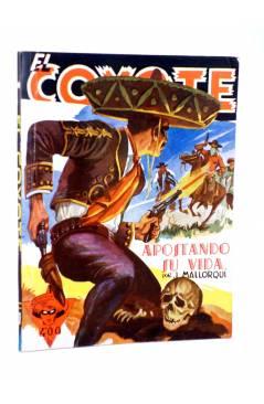 Cubierta de EL COYOTE 87. APOSTANDO SU VIDA (J. Mallorquí) Cliper 1944