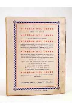 Contracubierta de EL COYOTE 87. APOSTANDO SU VIDA (J. Mallorquí) Cliper 1944