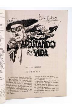 Muestra 1 de EL COYOTE 87. APOSTANDO SU VIDA (J. Mallorquí) Cliper 1944