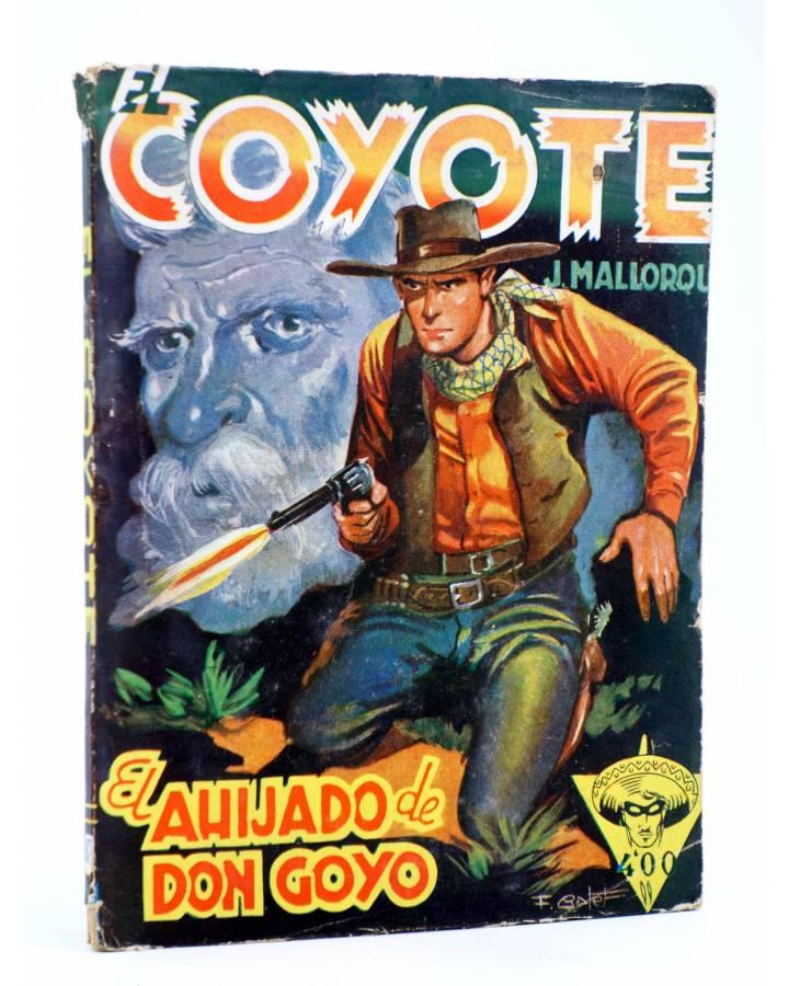 Cubierta de EL COYOTE 92. EL AHIJADO DE DON GOYO (J. Mallorquí) Cliper 1944
