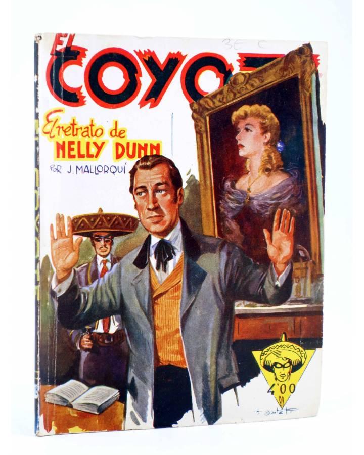 Cubierta de EL COYOTE 118. EL RETRATO DE NELLY DUNN (J. Mallorquí) Cliper 1944