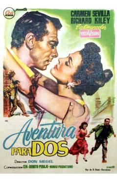 Cubierta de PROGRAMA DE MANO. AVENTURA EN ROMA (Melville Shavelson) Paramount 1963. CHARLTON HESTON