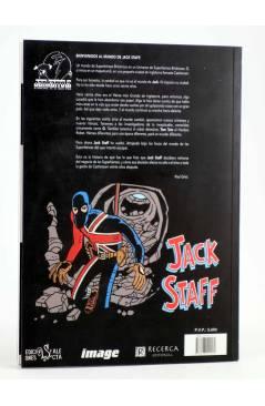 Contracubierta de JACK STAFF 1. EL HEROE BRITÁNICO MÁS GRANDE DE TODOS LOS TIEMPOS (Paul Grist) Recerca 2004
