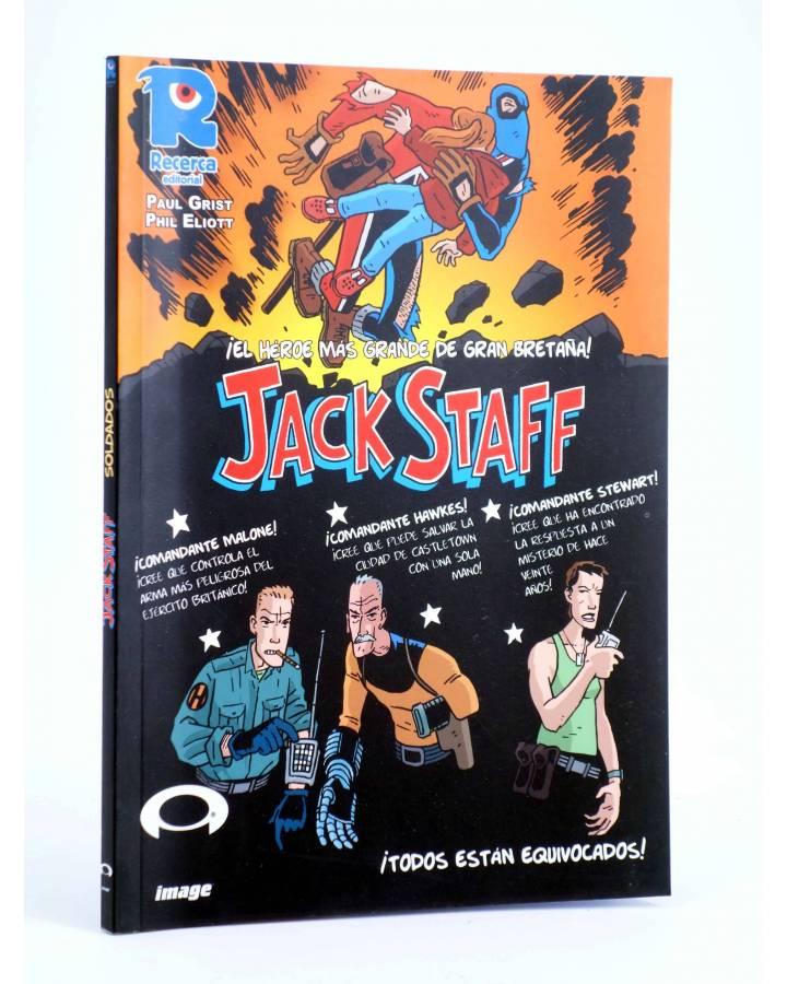 Cubierta de JACK STAFF 2. SOLDADOS (Paul Grist / Phil Elliot) Recerca 2004