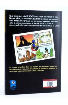 Contracubierta de JACK STAFF 2. SOLDADOS (Paul Grist / Phil Elliot) Recerca 2004