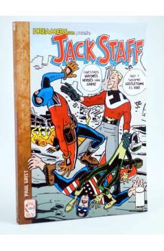 Cubierta de JACK STAFF 3. ECOS DEL MAÑANA (Paul Grist / Phil Elliot) Recerca 2008