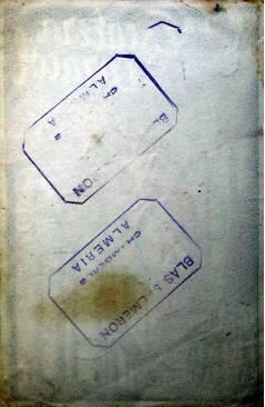 Contracubierta de PROGRAMA DE MANO. LA ESCALERA DE CARACOL (Robert Siodmak) R.K.O. 1948. DOROTHY MC GUIRE