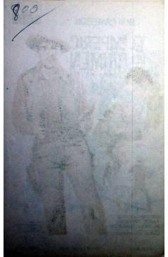 Contracubierta de PROGRAMA DE MANO. EL IMPERIO DEL CRIMEN - PANHANDLE (Lesley Selander) 1963. ROD CAMERON CATHY DOWNS