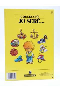 Contracubierta de COL.LECCIÓ JO SERE… 3. ASTRONAUTA (Jan I Cris) Bruguera 1986