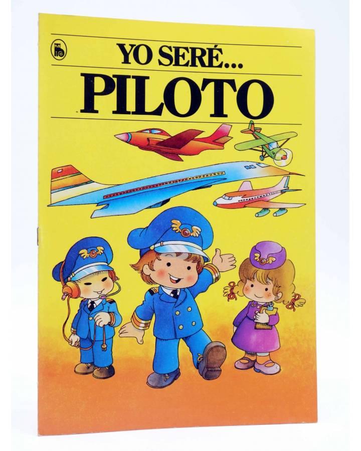 Cubierta de YO SERE… 1. PILOTO (Jan / Cristina Brunet) Bruguera 1986