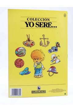 Contracubierta de YO SERE… 1. PILOTO (Jan / Cristina Brunet) Bruguera 1986