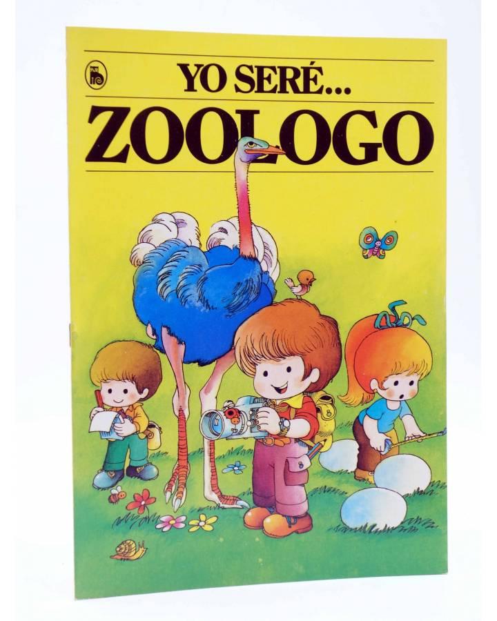 Cubierta de YO SERE… 2. ZOÓLOGO (Jan / Cristina Brunet) Bruguera 1986
