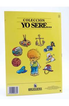Contracubierta de YO SERE… 2. ZOÓLOGO (Jan / Cristina Brunet) Bruguera 1986