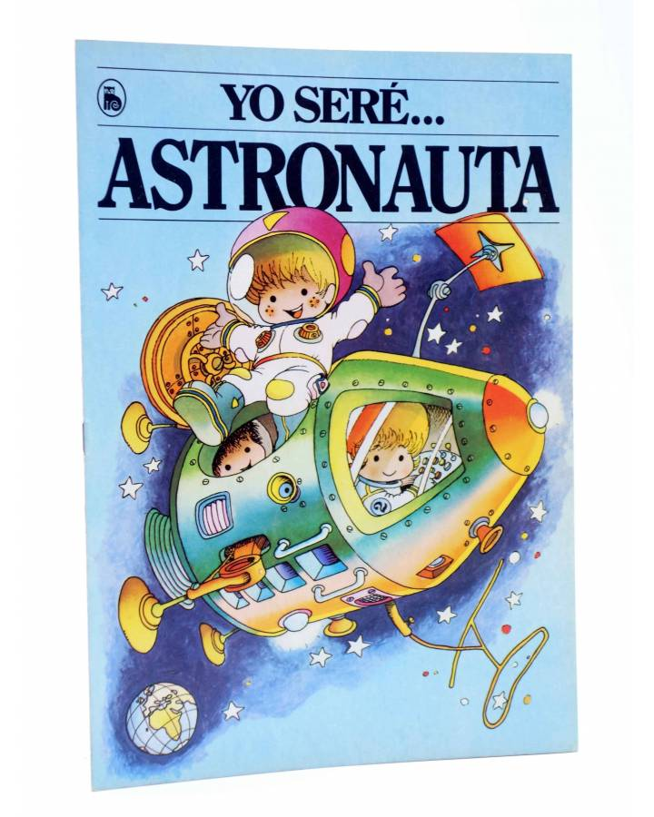 Cubierta de YO SERE… 3. ASTRONAUTA (Jan / Cristina Brunet) Bruguera 1986