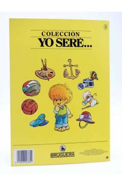Contracubierta de YO SERE… 3. ASTRONAUTA (Jan / Cristina Brunet) Bruguera 1986