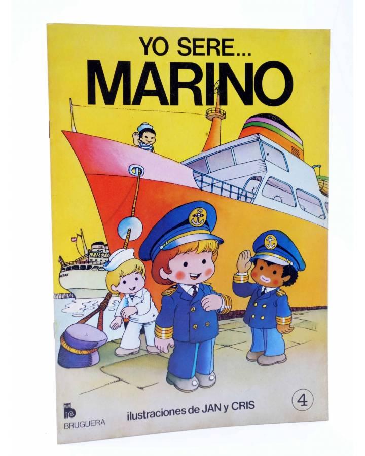 Cubierta de YO SERE… 4. MARINO (Jan / Cristina Brunet) Bruguera 1984