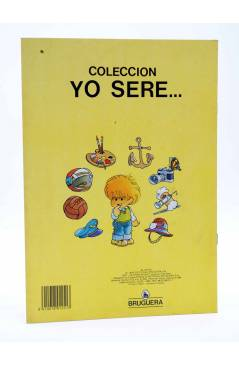 Contracubierta de YO SERE… 4. MARINO (Jan / Cristina Brunet) Bruguera 1984