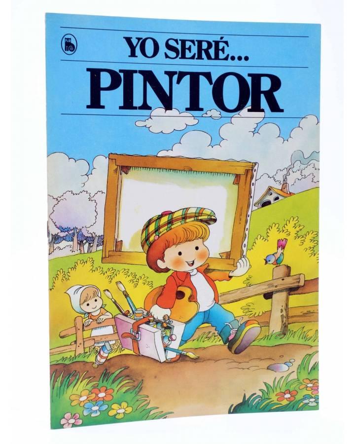 Cubierta de YO SERE… 5. PINTOR (Jan / Cristina Brunet) Bruguera 1986
