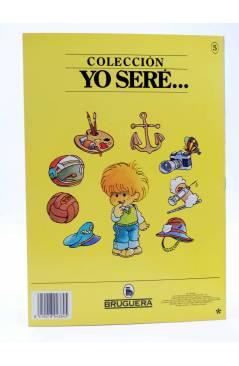 Contracubierta de YO SERE… 5. PINTOR (Jan / Cristina Brunet) Bruguera 1986