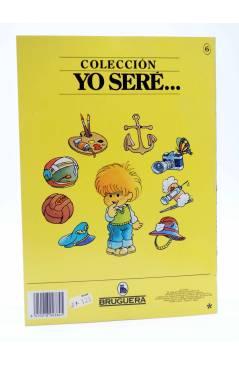 Contracubierta de YO SERE… 6. FUTBOLISTA (Jan / Cristina Brunet) Bruguera 1986